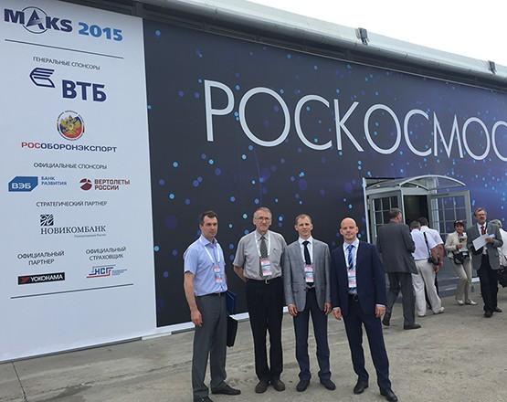 Делегация «5Микрон Инжиниринг» во главе с генеральным директором, Алексеем Юрьевичем Брагиным